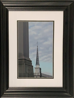 Mary's Steeple: A Mother's Prayer(20x16 Framed)