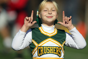 Cos Cob Crusher Cheerleader