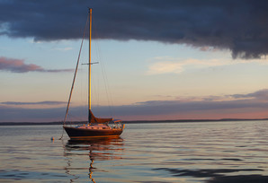 Long Island Lone Boat