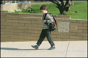 Walk To Classroom