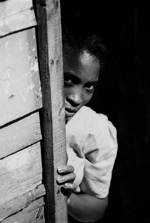 Dominican In Doorway