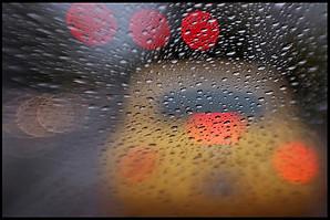 VW In Rain