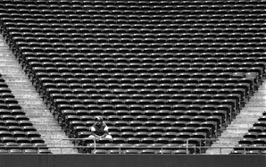 Lone Man In Stands