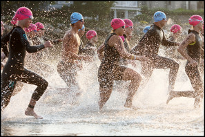 Triathlon Start