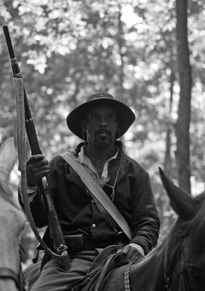 Civil War Reenactor