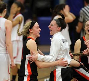 Ridgefield Basketball Win
