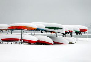 Snow Canoes