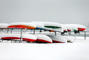 Snow Canoes