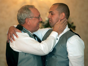 Father & Son At Wedding