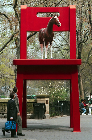 Horse On Chair
