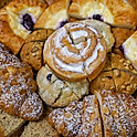 Fresh Baked Pastry Tray