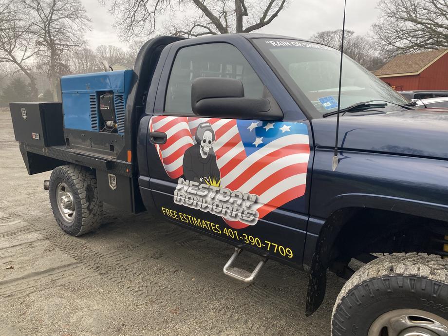 Westbay Ironworks Truck Decals