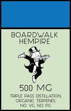 Boardwalk Hempire Packaging