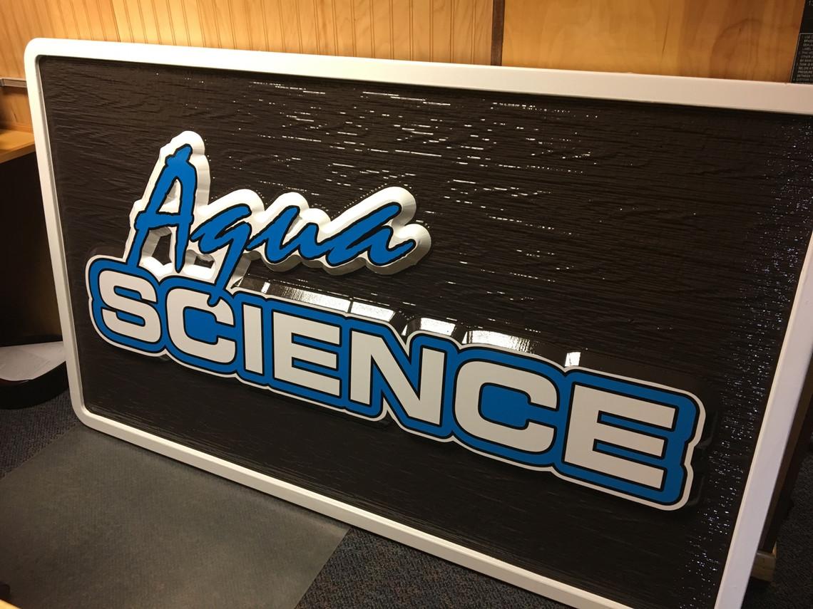 Aqua Science Sign