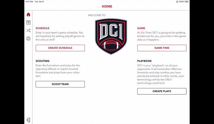 Adding Teams to the DC1 Schedule