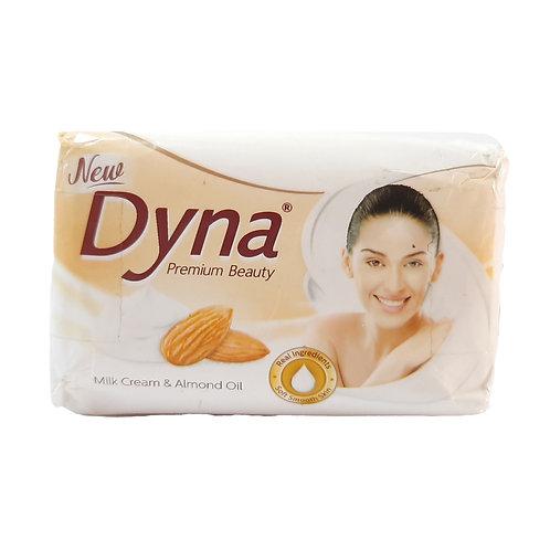 Dyna milk cream and almond soap 125g