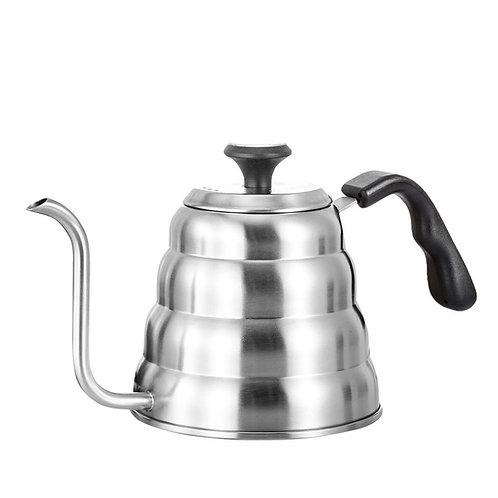 Dual purpose Gooseneck kettle