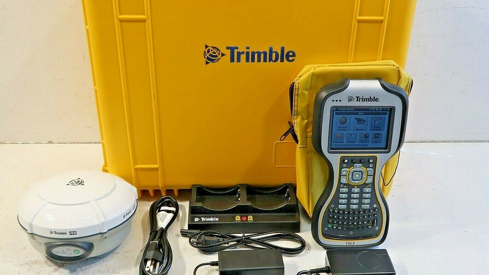 Trimble R8 Model 4 with TSC3 Network or Radio Rover