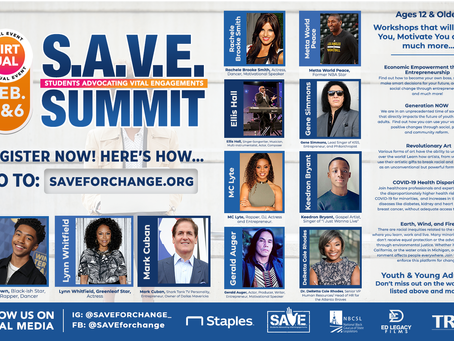 S.A.V.E. Summit 2021 - February 5th & 6th