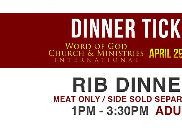 BBQ Rib Pre-Order