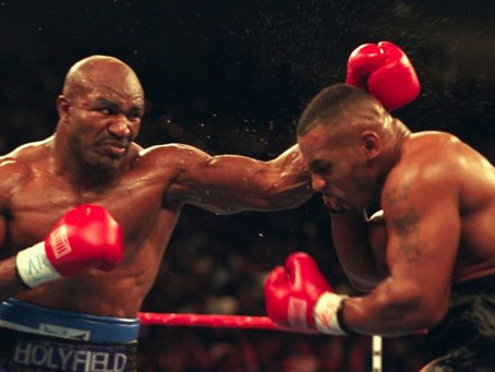 "Mike ""Iron"" Tyson vs. Evander ""The Real Deal"" Holyfield I"