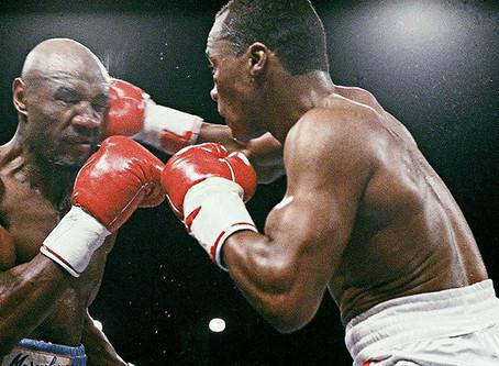 """Marvin """"Marvelous"""" Hagler vs. """"Sugar"""" Ray Leonard"""