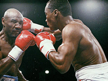 "Marvin ""Marvelous"" Hagler vs. ""Sugar"" Ray Leonard"