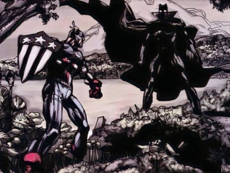 Black Panther / Captain America: Flags of Our Fathers
