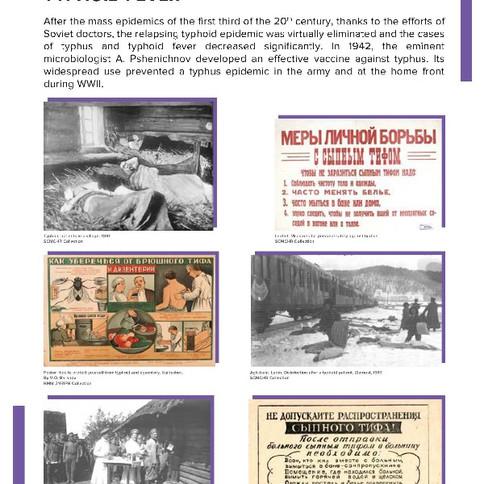 Sanitation education against typhoid fever