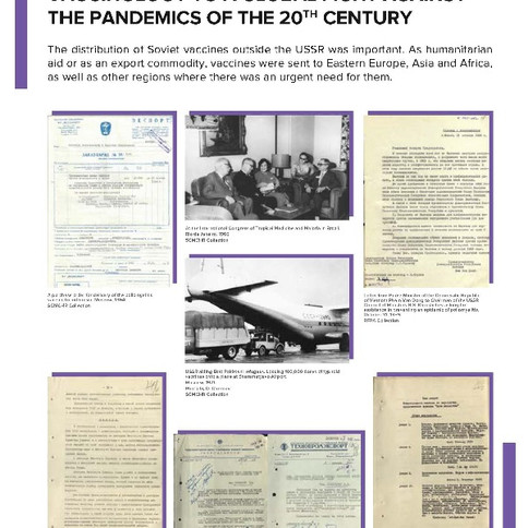 Contribution of the domestic vaccinology to a global fight against the Pandemics of the 20th century