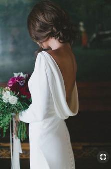 Winter wedding dress inspiration 2018