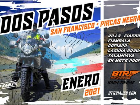 Dos Pasos - (San Francisco + Pircas Negras)