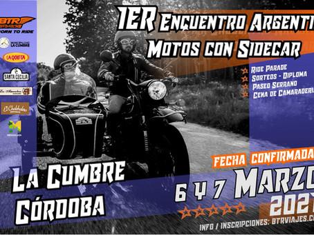 1er Encuentro Argentino de Motos con Sidecar 2021 -         Mira las fotos!!!