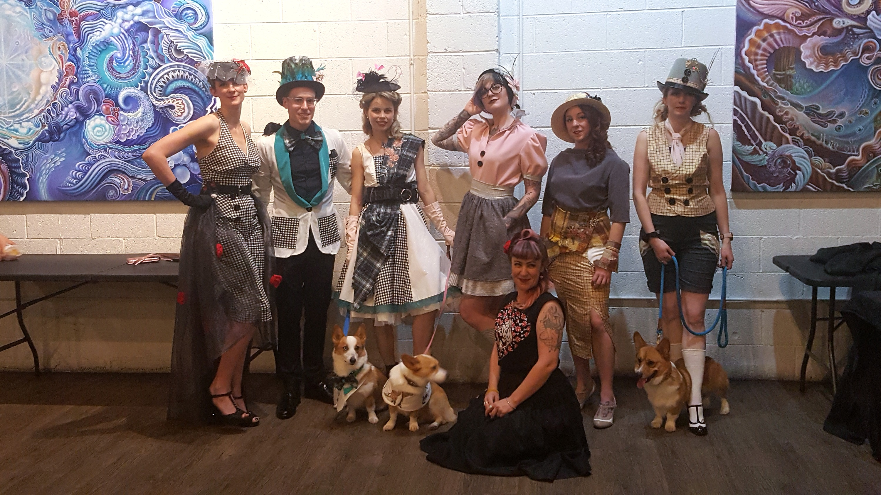 Corgis & Friends take over fashion