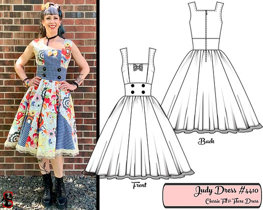 Judy- Classic fit and flare dress