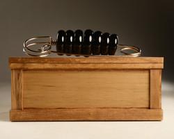 Black Pin on Box