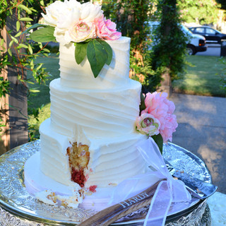 A Firefighters Wedding Cake