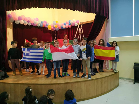 """ΠΡΟΣΚΛΗΣΗ: Erasmus """"Meet on the European Route"""" OPEN DAY - Παρασκευή 8-11-2019"""