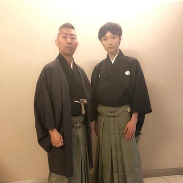 16歳の弟子 野澤松玖と