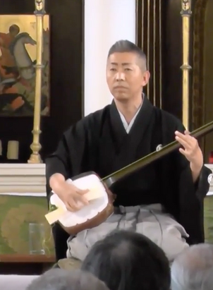 ★動画★五条橋/GOJOBASHI Joruri concert at Grosvenor Chapel in London. -GOJOBASHI- 12 July 2015
