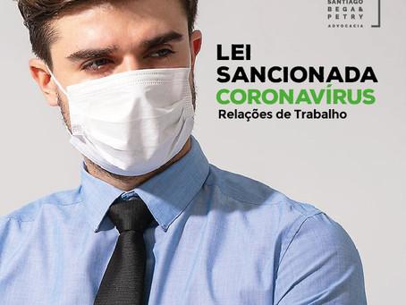 Coronavírus e questões relativas às relações trabalhistas: