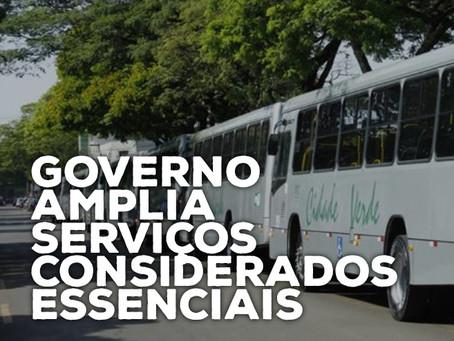 Governo amplia serviços considerados essenciais