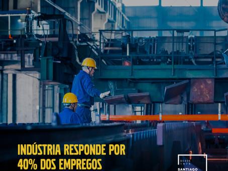 Indústria responde por 40% dos empregos criados no Paraná