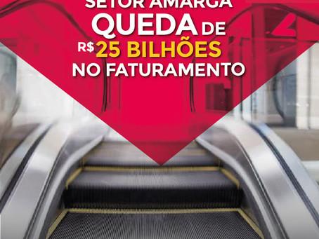 Shoppings - Setor amarga queda de R$ 25 bilhões no faturamento