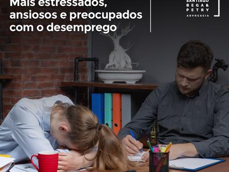 Jovens brasileiros. Mais estressados, ansiosos e preocupados com o desemprego