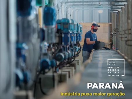 Paraná - Indústria puxa maior geração de empregos desde 2011