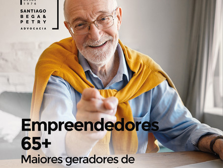 Empreendedores 65+Maiores geradores de empregos no Brasil