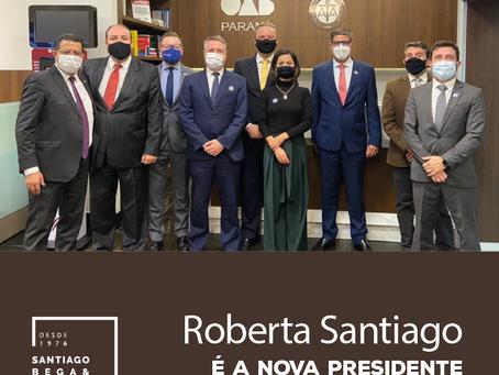 Roberta Santiago é a nova presidente da AATPR
