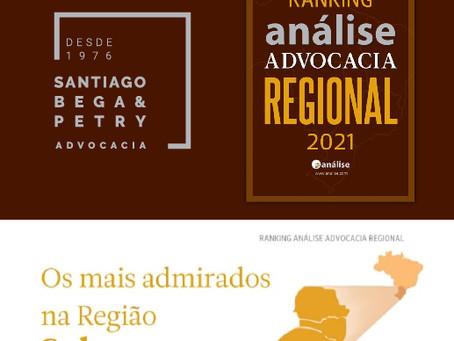 SBP Advocacia entre os Escritórios Mais Admirados na Região Sul