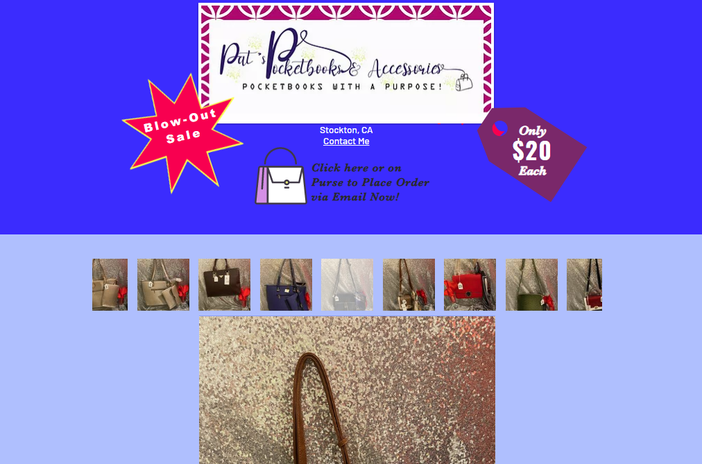 Pat's Pocketbooks